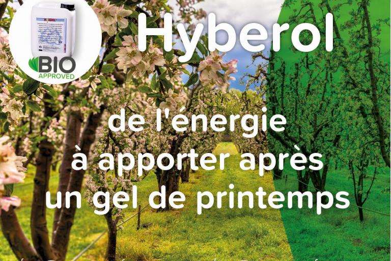 Hyberol, de l'énergie à apporter après un gel de printemps